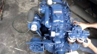Motor turbo Diesel perkins q20b.