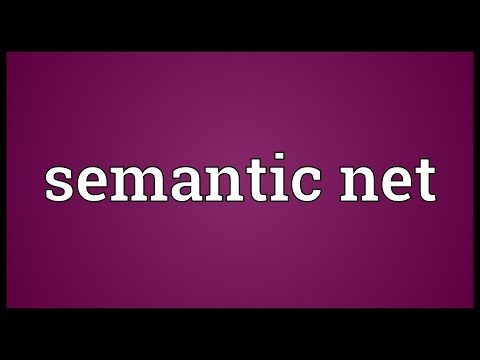 Semantic net Meaning