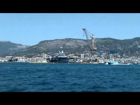 French Naval ships in Toulon, July 2015