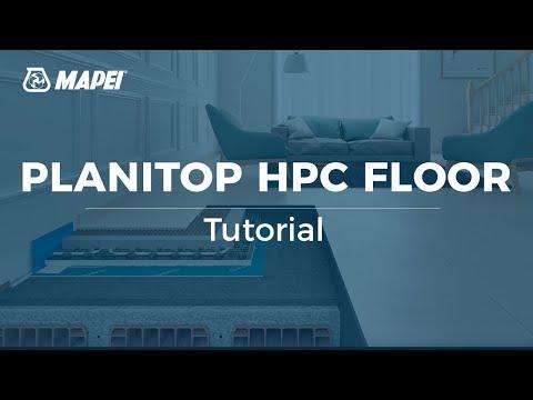 MAPEI: Planitop HPC Floor - strengthening floor slabs