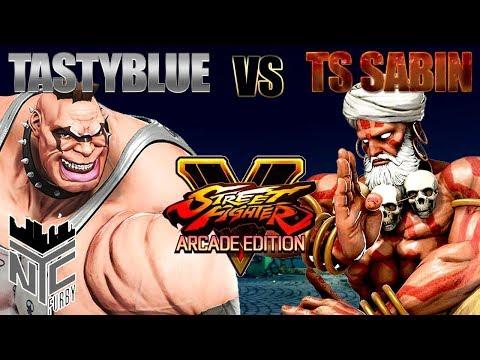 [SFV] Tastyblue (Abigail) vs. TS Sabin (Dhalsim) [1080p Stream/4K Recordings]