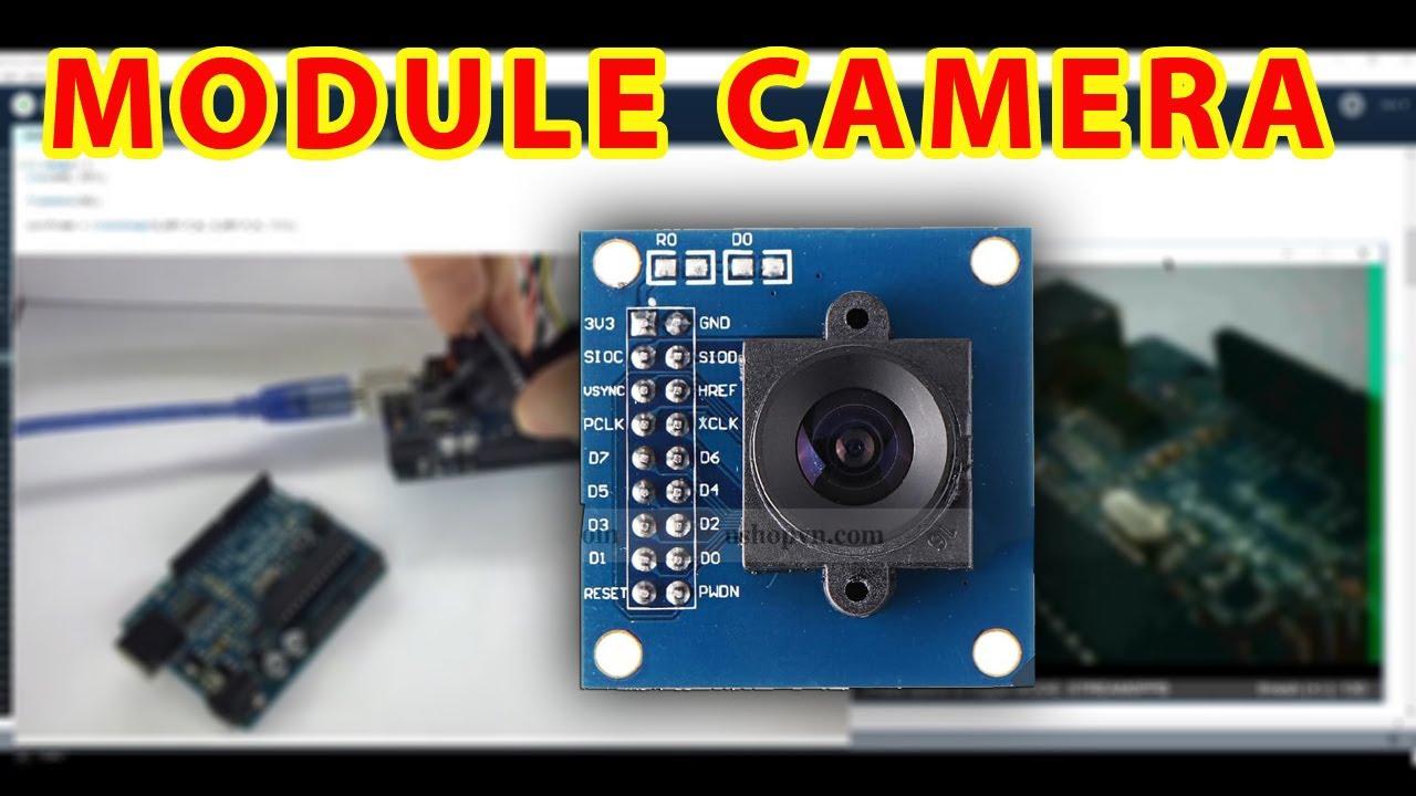 Hướng dẫn sử dụng Module camera OV7670