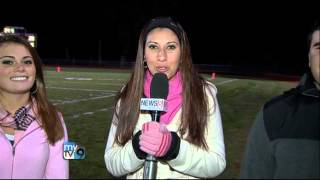 Tulin, the MyTV9 Star, Reports at the N.Haven HS Football Game of the Week