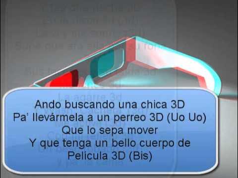 Chica 3D Con LeTra Hd!
