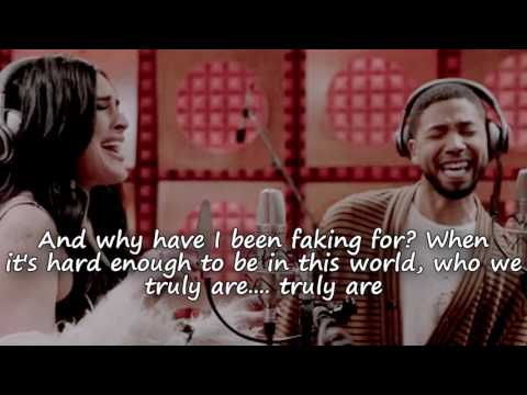 "Empire Cast - ""Simple Song"" ft. Jussie Smollett & Rumer Willis w/ lyrics"