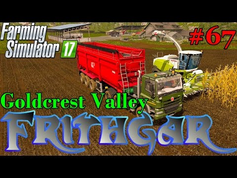 Let's Play Farming Simulator 2017, Goldcrest Valley #67: Silage With Extra Large Krampe Trailer!