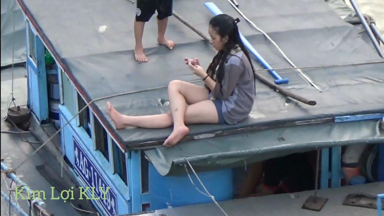 Hot girl/Nét Đẹp Của Những Em Gái Miền Tây Sông Nước Là Đây.