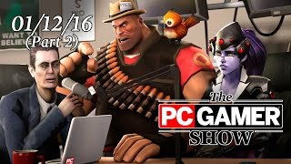 The PC Gamer Show (part 2) — XCOM 2 gameplay demo with Firaxis Games