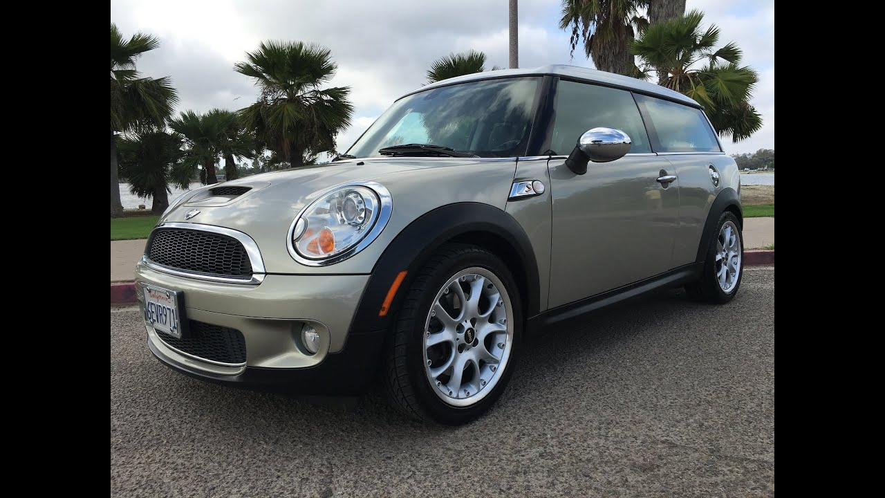 2008 mini cooper clubman s manual 6spd turbo full walk around for sale san diego youtube. Black Bedroom Furniture Sets. Home Design Ideas