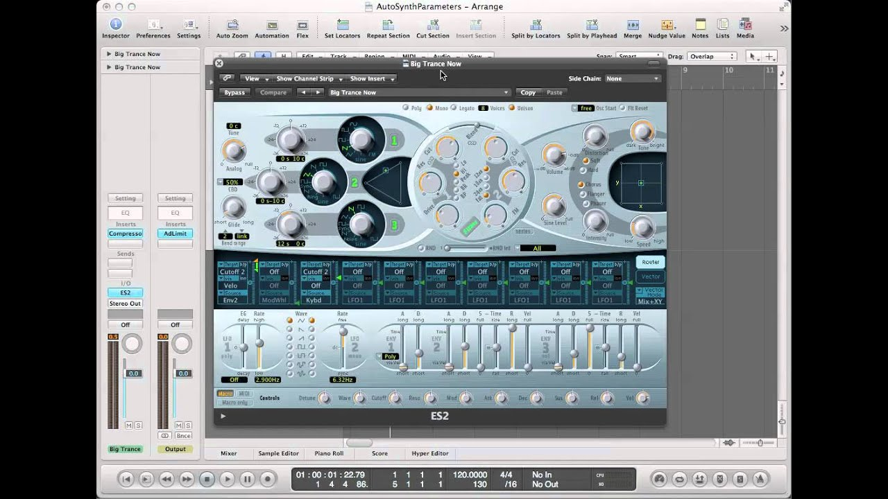 logic pro 9 plugins automation