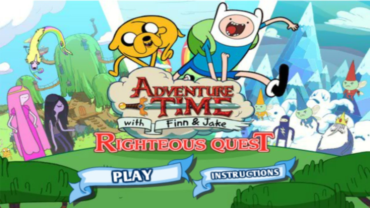 Cartoon Network Games: Adventure Time - Righteous Quest ...