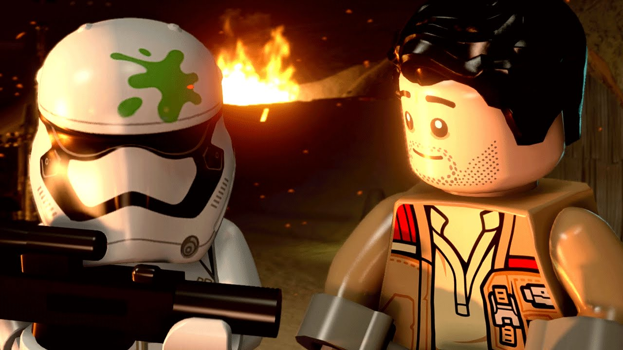 LEGO Star Wars: The Force Awakens - Jakku: Poe's Quest for Survival 2016 pc game Img-3