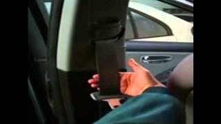Устранение заклинивания передних ремней безопасности