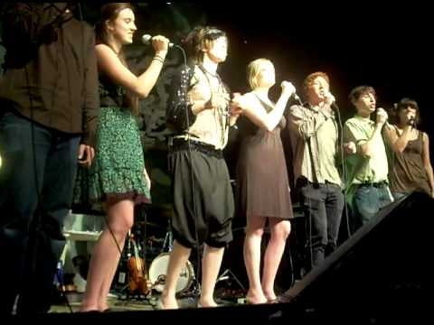 "Fairview High School Singers performing ""Earth"" with Imogen Heap in Denver"