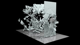 Cinema 4D Tutorial - Shattering Wall