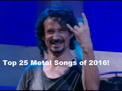 Best 25 Metal songs of 2016 by RockAndMetalNewz