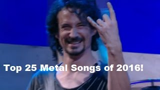 Baixar Best 25 Metal songs of 2016 by RockAndMetalNewz