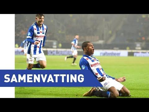 Eredivisie speelronde 20: sc Heerenveen - Sparta Rotterdam (2017/2018)