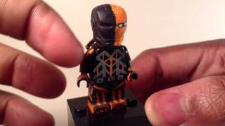 Lego Dc: DeathStroke Custom Minifigure Showcase