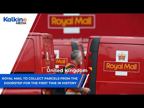 Royal Mail To Collect Parcels From The Doorstep For The First Time In History.  | UK |