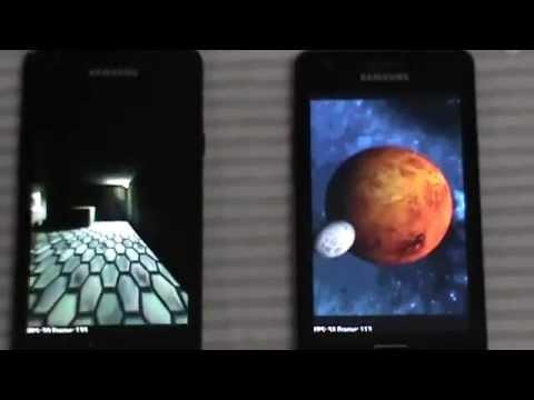 Galaxy S2 vs Galaxy R