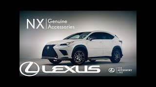 What extras can be fitted to Lexus NX?