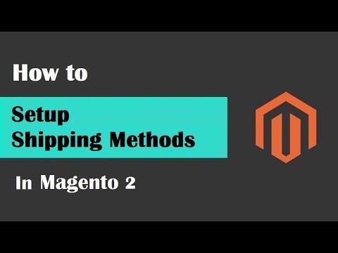 Magento 2 Tutorial Lesson #14 | #SetupShippingMethodsInMagento2