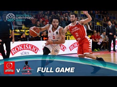 LIVE 🔴 - Juventus Utena (LTU) v Lukoil Academic (BUL) - Basketball Champions League 17-18
