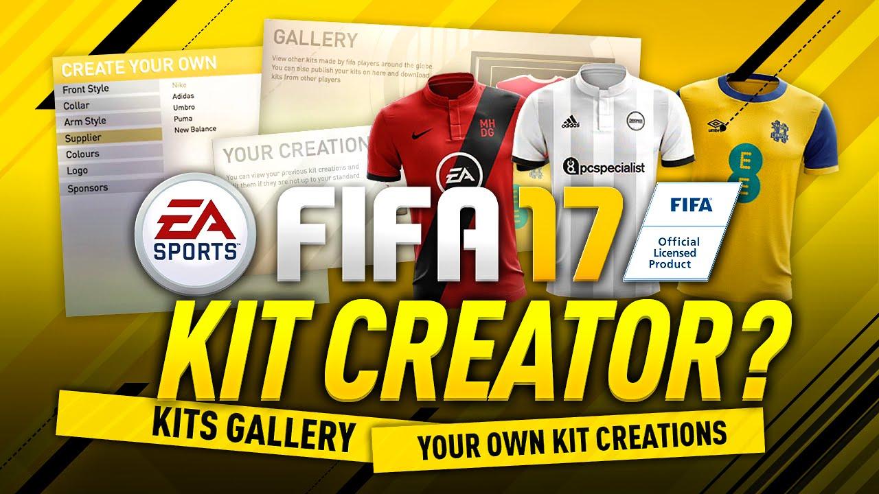 9f38bd3fb FIFA 17 KIT CREATOR  - YouTube