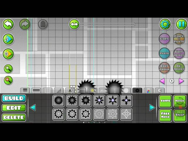 Geometry dash HOW TO make a good level -half-