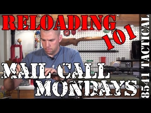 Mail Call Mondays #22 - Bullet Seating Depth