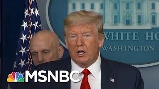 Trump Uses Coronavirus Crisis To Criticize Governors Seeking Help | The Day That Was | MSNBC