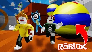 WE BECOME ANDY TOYS!! TOY STORY OBBY ROBLOX 💙💚💛 BE BE BE BE MILO VITA AND ADRI 😍 AMIWITOS
