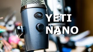 Blue Yeti Nano - Small Mic for Streamers and Gamers