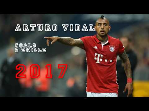 Arturo Vidal - Top 10 Goals & Skills 2017