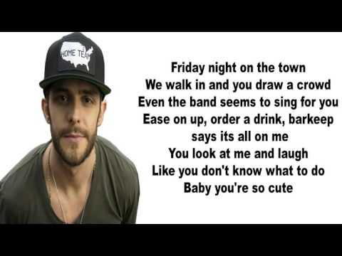 THOMAS RHETT Star Of The Show lyrics