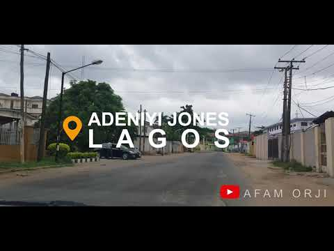 Download LAGOS CITY IN 2020 | ADENIYI JONES AVENUE, IKEJA