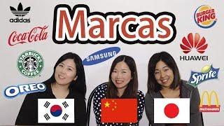 Comparación de Marcas en chino coreano y japonés