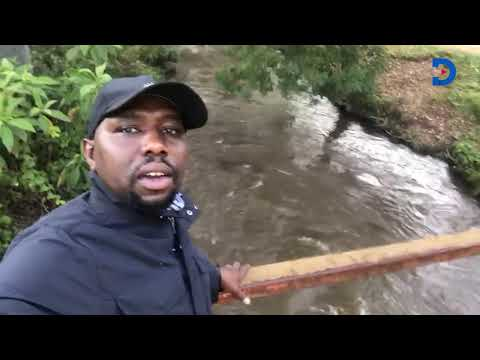 Kipchumba Murkomen revisists controversial Arror Dam Project, goes live from the river