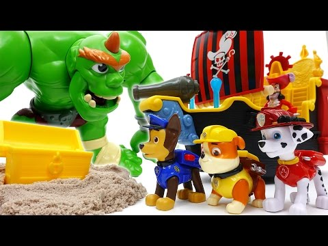 Thumbnail: Paw Patrol Treasure Hunting~! Hungry Giant Ogre Appeared