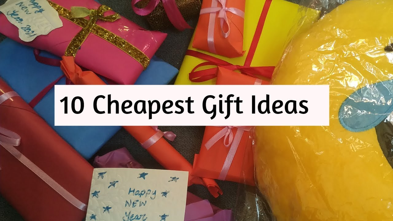20 Gift Ideas Under 20/200 Rs Gift Guide for Girls  Giftonbudget  New year  Gift idea  Cheapest Gift