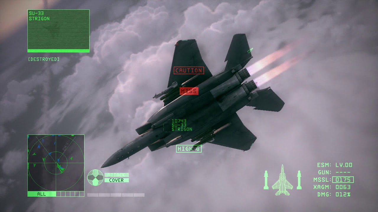 Let\'s Play Ace Combat 6 - Mission 15 - Chandelier - YouTube
