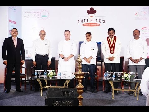 South India culinary association culinary workshop 2015 inauguration.