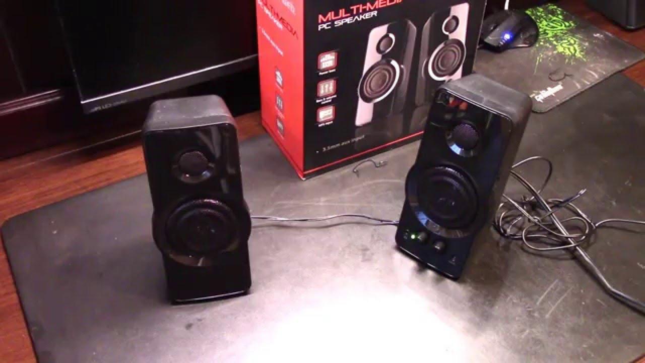 BlackWeb 2 0 Speaker System Review