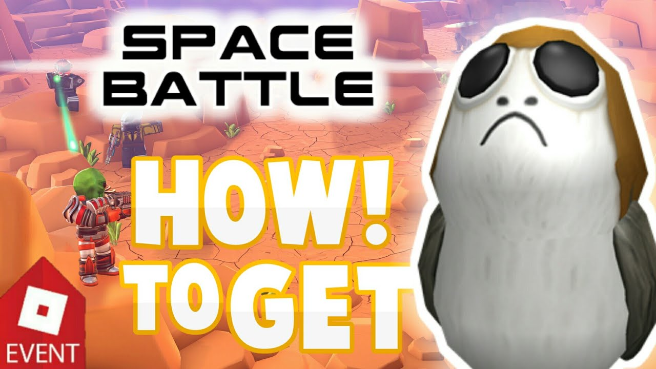 Be A Porg Roblox How To Get The Porg Roblox Epic Mini Games Roblox Event Youtube