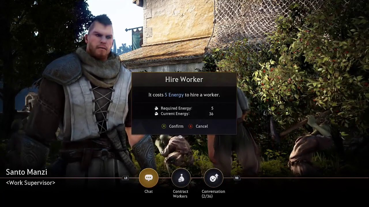 Black Desert Xbox Setting Up Nodes And Hiring Workers