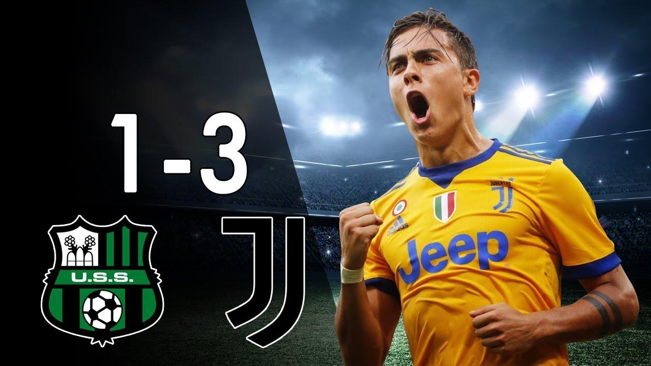 Juventus Vs Sassuolo: All Goals & Highlights 17/09