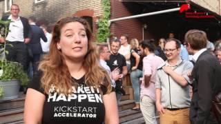 Kickstart Accelerator Startup Bootcamp: Top startups Fintech, Robotics, Smart Cities, Food.