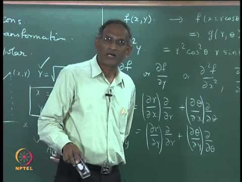 Mod-01 Lec-10 Coordinate transformations from cartesian to spherical coordinates