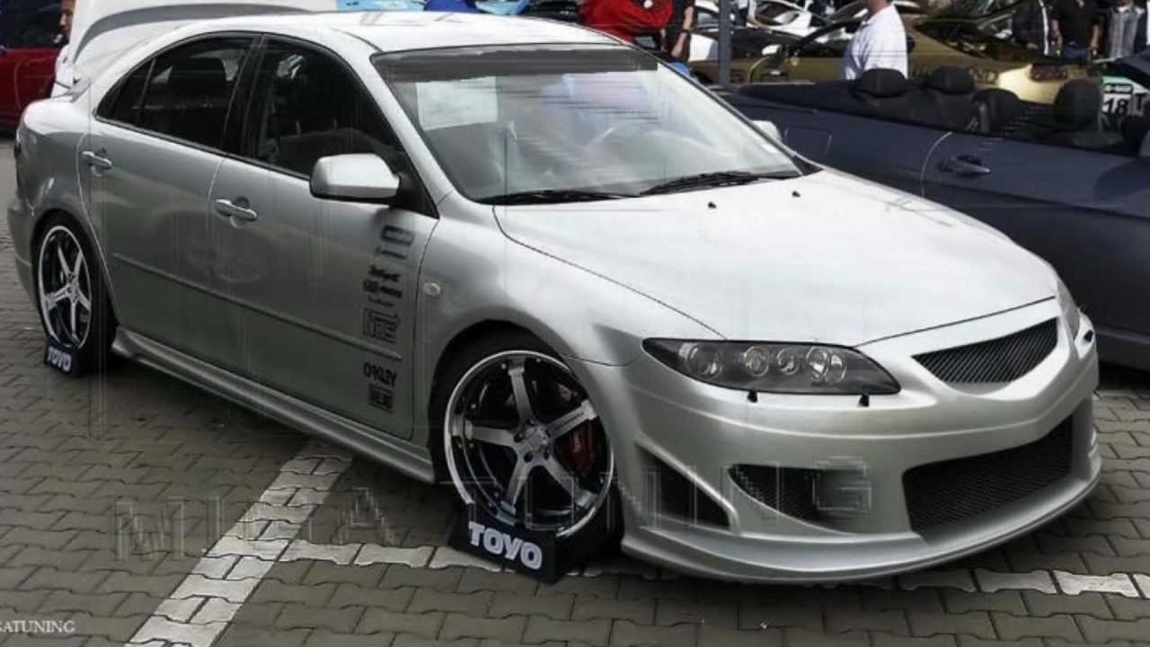mazda 6 tuning body kit youtube. Black Bedroom Furniture Sets. Home Design Ideas